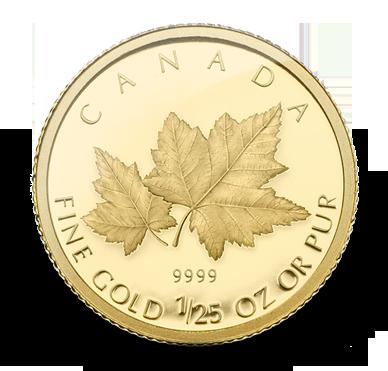 A gold coin.
