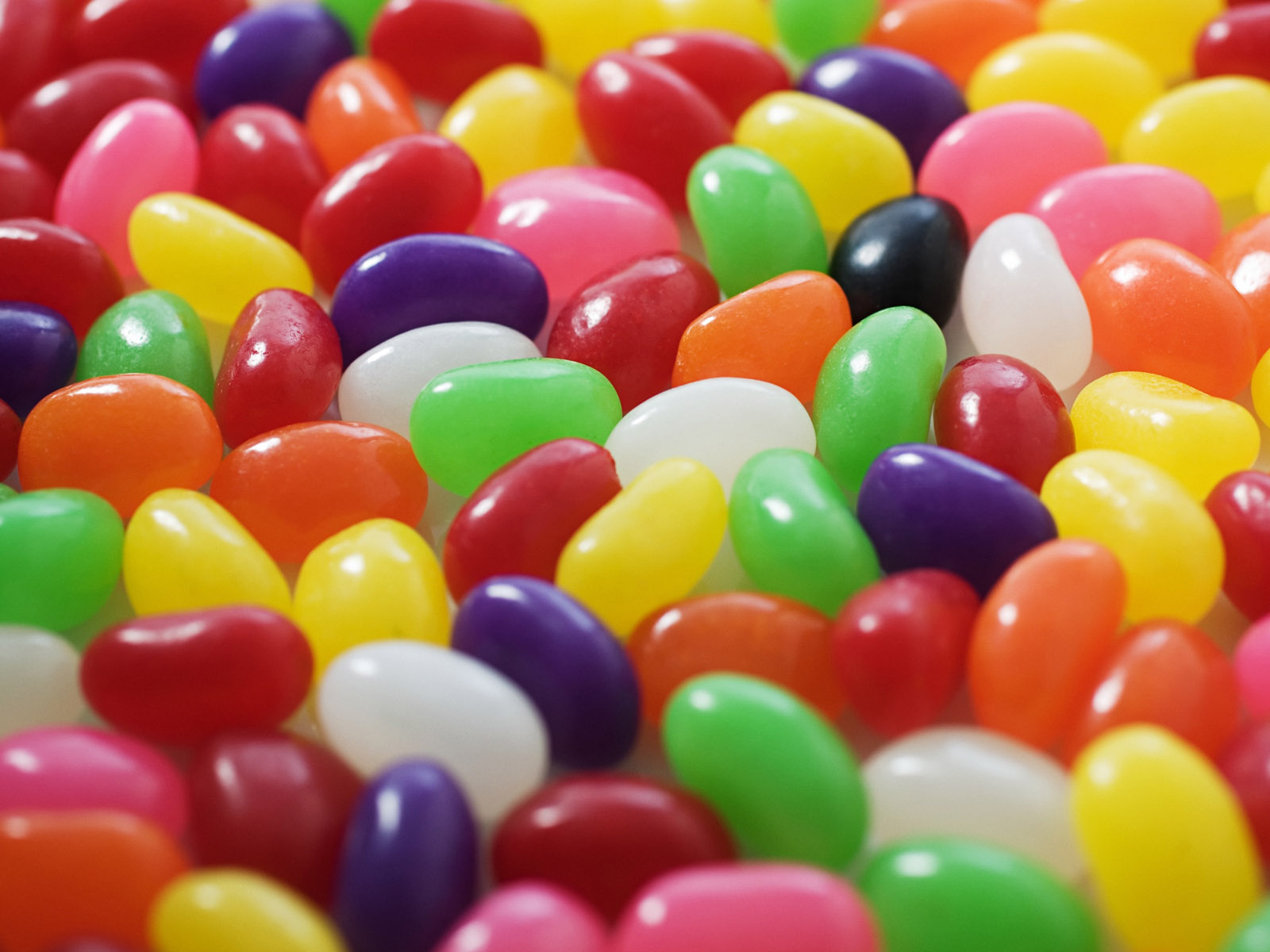 Some sweet candy jelly beans.
